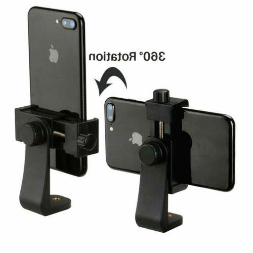 Smartphone Tripod Adapter Cell Bracket Clip for Selfie