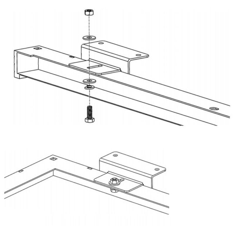 HQST Solar Z Brackets with and Bolts R