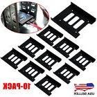 """10X 2.5"""" to 3.5"""" SSD HDD Metal Adapter Mounting Bracket Hard"""