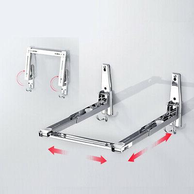 Stainless Steel Thicken Microwave Oven Wall Mount Shelf Brac