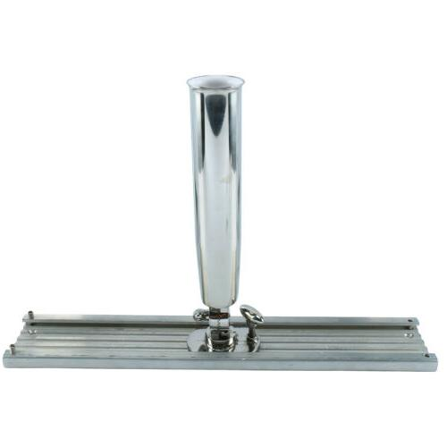 stainless steel1 tube rod holder with mounting
