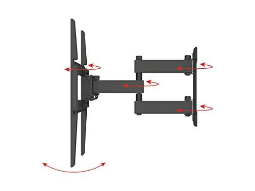 Monoprice Titan Articulating Wall Mount Bracket TVs Up to Max Weight Patterns Up