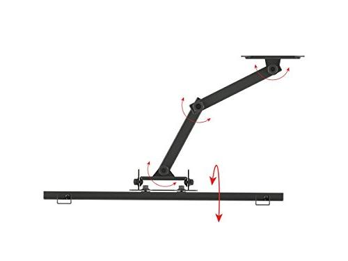 Monoprice Titan Series Full-Motion Articulating TV Wall Bracket Up 55in Weight 77lbs VESA Up to