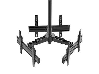Monoprice Triple Ceiling TV Mount For TVs 32in