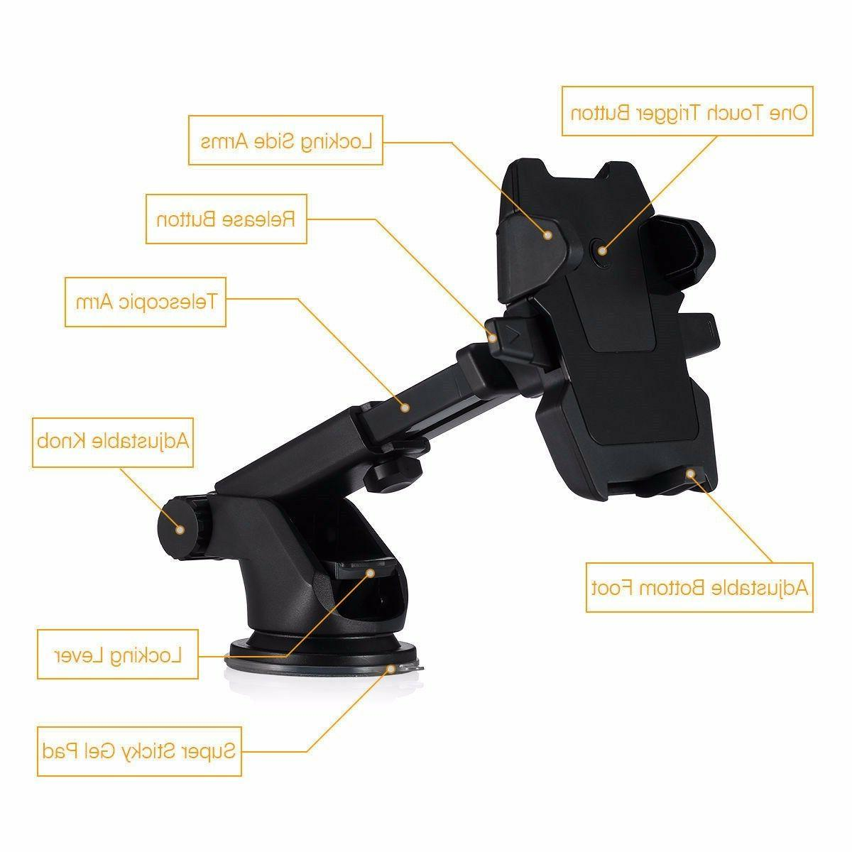 Universal Car Mount Cell for iPhone 6 Plus Samsung