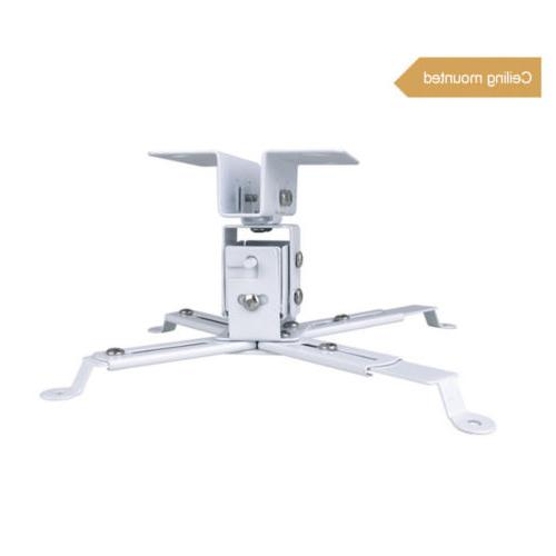 Universal Extendable LCD Ceiling Bracket lbs White