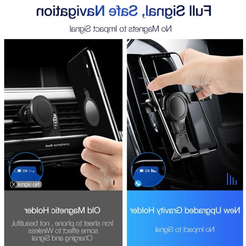 Universal Holder For Phone <font><b>Car</b></font> Air No Magnetic For iPhone Gravity <font><b>Bracket</b></font>