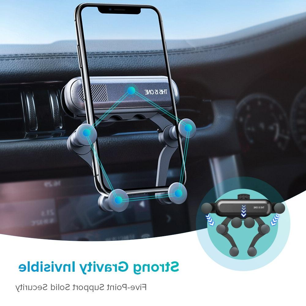 Universal Gravity <font><b>Car</b></font> Phone Vent <font><b>Mount</b></font> Stand Smartphone in Holder for XS