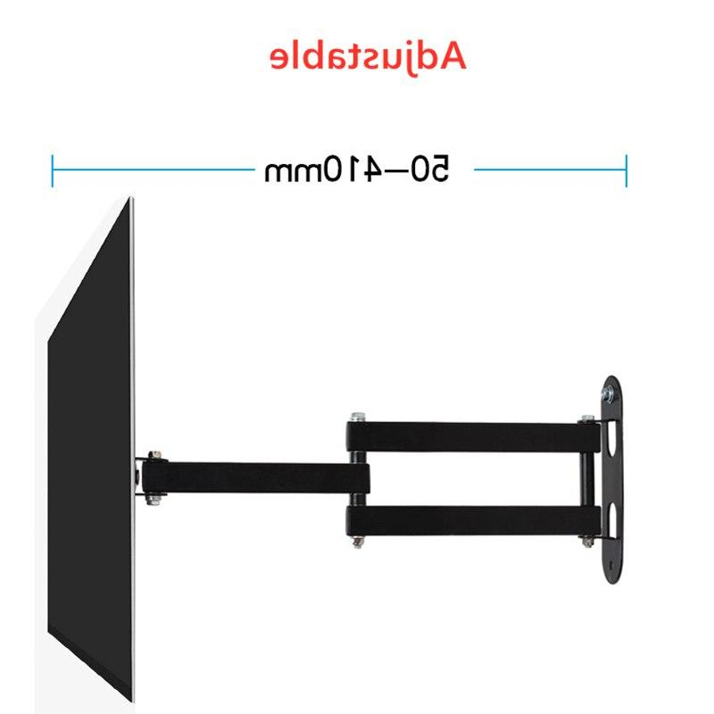 Universal Holder Rotated TV Wall <font><b>Bracket</b></font> <font><b>Swivel</b></font> Holder LCD TV Wall <font><b>Mount</b></font> for 10-27 inch