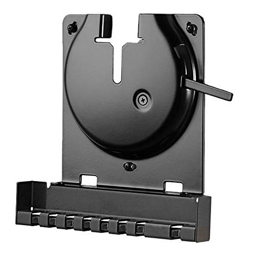 Sanus Sonos Amp Black with Latch for Low Design Mounts - Built-in Cable Management & Install
