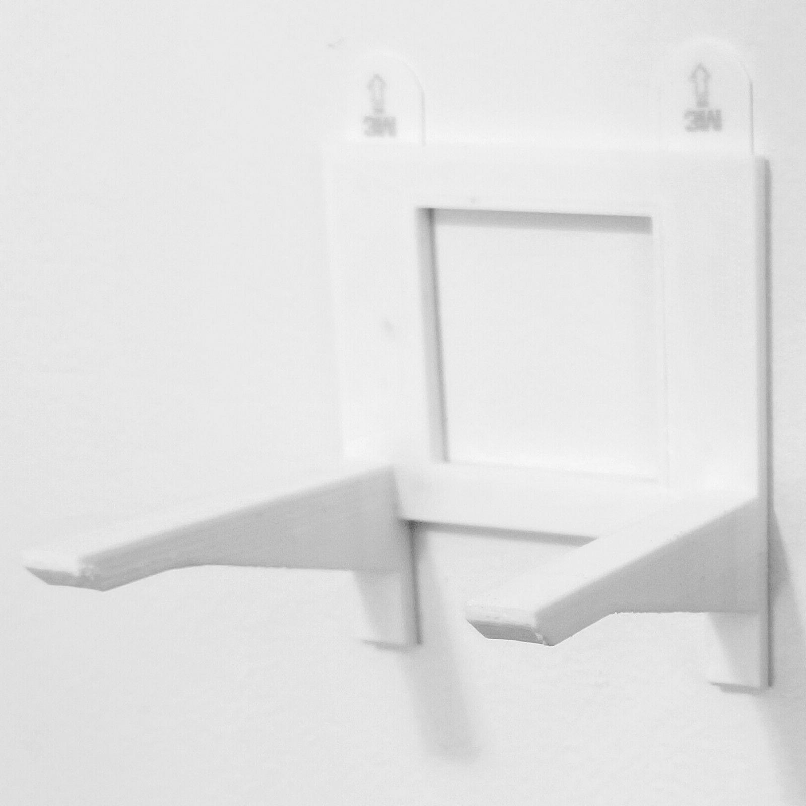 white wall bracket for mounting boxed funko