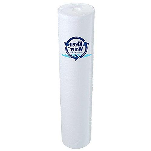 KleenWater Whole House Water Filter, Filtration Includes Water Inch NPT