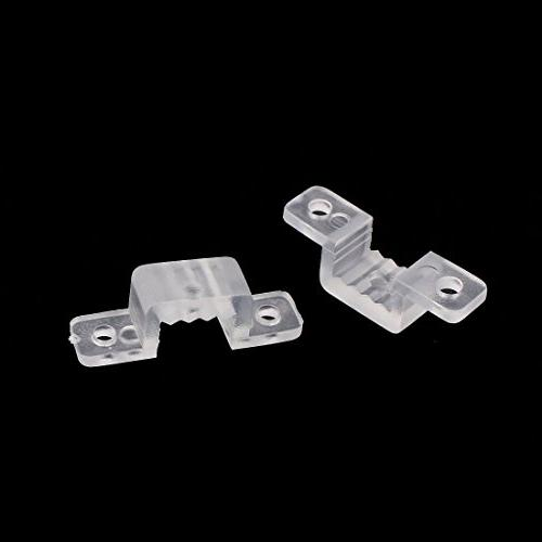 Aexit 10mm x Electrical Boxes, 6mm Plastic Bracket 100pcs 3258 Fittings Light