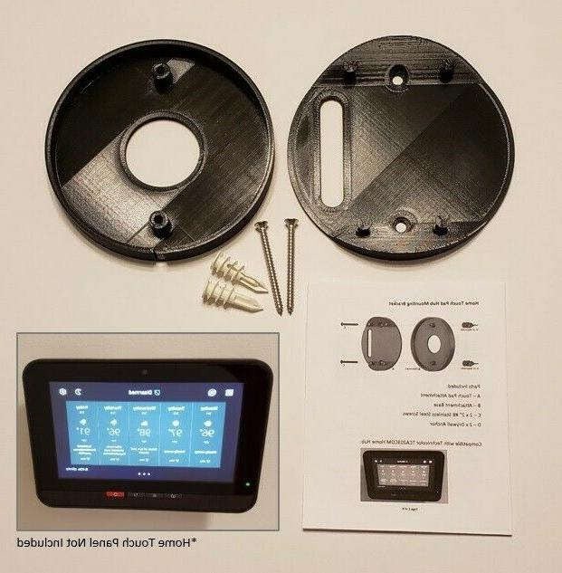 xfinity technicolor home security touch pad hub