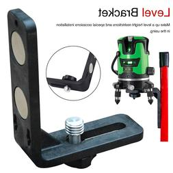 Laser Level L-shape Magnetic Pivoting Base for Instruments L