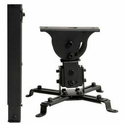 VideoSecu LCD DLP Projector Ceiling Mount Bracket with Adjus