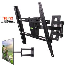 Long Arm TV Wall Mount Tilt Swivel Bracket TV Stand Holder f
