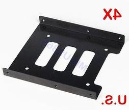 "LOT of 4,2.5"" to 3.5"" Bay SSD Metal Hard Drive HDD Mounting"