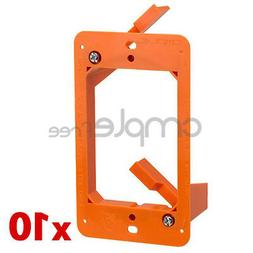 Low Voltage 1 Gang Bracket Mount Multipurpose DryWall WallPl