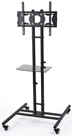 Displays2go LTTVS325BK Mobile TV Stand for 32 to 50 Inches F