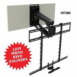 MantelMount MM700 Pro Series Above Fireplace Pull Down TV Mo