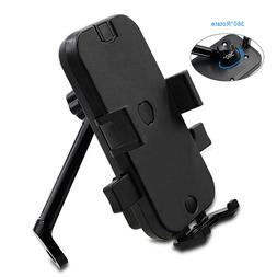 Motorcycle Phone Holder Car Smartphone Stand 360 Degree Rota