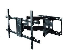 Premium Mount - Heavy Duty Dual Arm Articulating TV Wall Mou