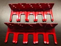 NEW 10 LOT FORK STYLE WALL MOUNT 5# SIZE FIRE EXTINGUISHER
