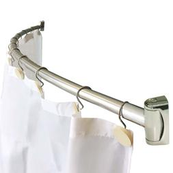 new 60 curved shower curtain rod hardware