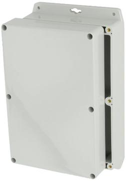BUD Industries PN-1329-MB Polycarbonate NEMA 4X Box with Mou