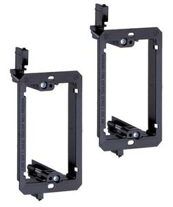iMBAPrice® Single Gang  Low Voltage Mounting Bracket - Blac