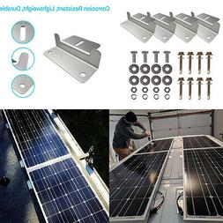 Solar Panel Mounting Z Bracket Mount Support for RV, Roof, B