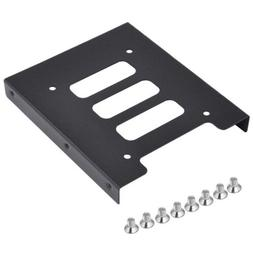 "2.5"" to 3.5"" SSD HDD Metal Adapter Mounting Bracket Hard Dri"