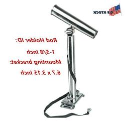Stainless Steel Adjustable Outrigger Stylish Rod Holder with
