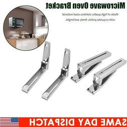 Stainless Steel Microwave Oven Bracket Sturdy Foldable Stret