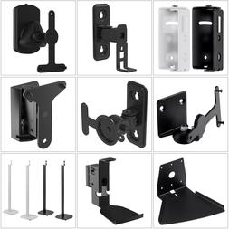 Tilt Swivel Wall Mount Floor Stand For SONOS PLAY 1 3 5 Spea