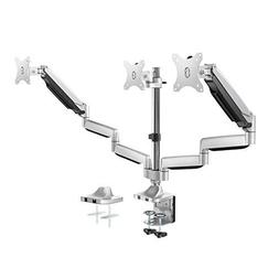 Triple Monitor Stand - Adjustable 3 Arm Gas Spring Computer