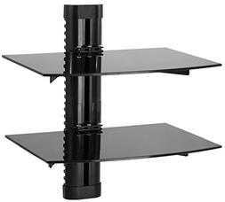Tv 2 Floating Shelf Stand Wall Mount Console Entertainment M
