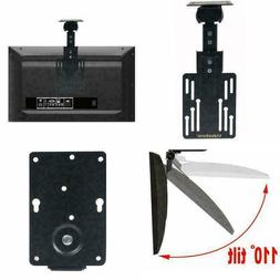 TV Ceiling Mount Folding Flip Swivel Mount Bracket For LCD L