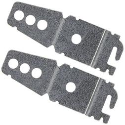 2-Pack Undercounter Dishwasher Bracket Replacement - Whirlpo