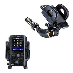 Unique Auto Cigarette Lighter and USB Charger Mounting Syste