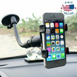 Universal 360°Rotating Car Windshield Mount Holder Stand Br