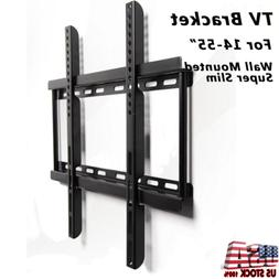 "Universal Steel LED LCD TV Wall Mount Bracket Stand 14-55"" f"