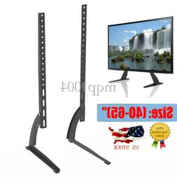 Universal TV Wall Tabletop Stand Bracket Pedestal Mount Base