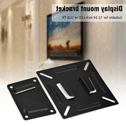 Wall Mount Stand Bracket For 12-24'' LCD LED Monitor TV Comp