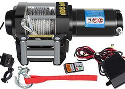 DCFlat 12V 3500LBS Wire Rope Electric Winch for Towing ATV/U